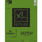 Canson XL Recycled Sketch Pad