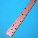 "Alumicolor Breast Cancer Awareness 36"" Yard Stick"