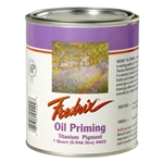 Fredrix Oil Priming Titanium Pigment - 1 Quart