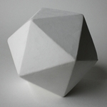 Masters Plaster Twenty Sided Sphere