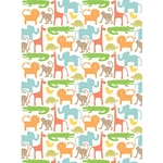 "Whimsical Animals Paper - 19""x26"" Sheet"