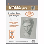 Kona Grey Premium Toned Artist Paper Set With Gourmet Coffee Coupon
