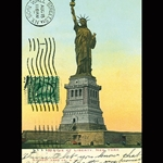 "Cavallini Papers from Italy - Statue of Liberty 20""x28"" Sheet"