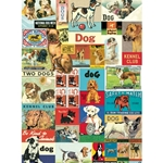 "Cavallini Papers from Italy - Vintage Dogs 20""x28"" Sheet"