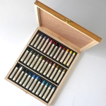 Sennelier Oil Pastel Plein-Air Wood Box set of 36