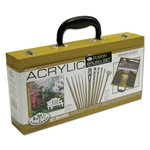 Royal Brush Acrylic Paint Wood Box Set