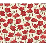 Rossi Decorative Paper from Italy- Poppies 28x40 Inch Sheet