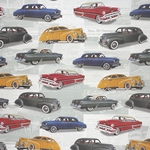 Rossi Decorative Paper from Italy- Vintage Cars 28x40 Inch Sheet