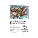 "Bee Paper 36""x5 Yards 68lb (115 gsm) AF Gateway Deluxe Tracing Vellum Roll"