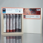 R&F Pigment Stick Sets - Figure Drawing Set of 6