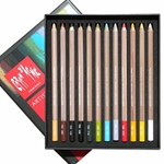Caran d'Ache Set of 12 Pastel Pencils