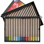Caran d'Ache Set of 40 Pastel Pencils