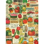 "Cavallini Decorative Paper - Garden Ephemera 20""x28"" Sheet"