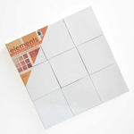 "Art Alternatives Elements Canvas for Home Décor - 9 - 4""x4"" Canvases"
