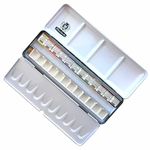 Schmincke Horadam Aquarell Metal Set of 12 Half Pans