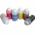 Jack Richeson Tempera Powder Paint - Set of 6 Primary Colors