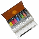 Sennelier L'Aquarelle French Artists' Watercolor Travel Set of 8 - 10ml Tubes