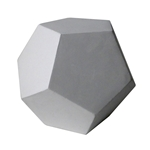 Plaster Cast Twelve Sided Sphere