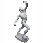 Plaster Cast Muscular Posing Male 2