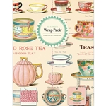 Cavallini Wrap Pack- Tea & Sweets