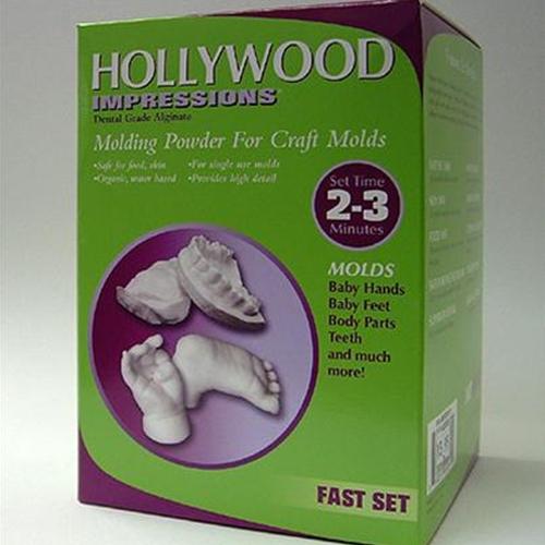 Art Molds - Alginate - Hollywood Impressions Molding Powder for Craft Molds