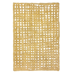 Amate Bark Paper from Mexico- Weave Oro 15.5x23 Inch Sheet
