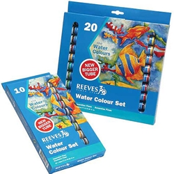 Reeves Watercolor Set 10 - 22ml Tubes