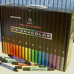 Prismacolor Art Markers - Set of 72 Assorted Colors