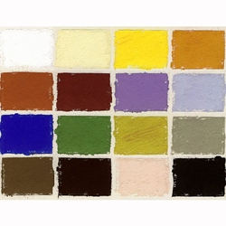 Diane Townsend Handmade Thinline Pastel Sets - Basic Colors Set of 16 Pastels
