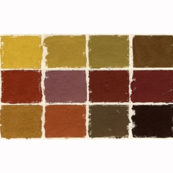 Diane Townsend Handmade Terrages Sets - Earthtones Set of 12 Pastels