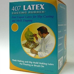 Art Molds 407 Latex Casting Rubber Pure Liquid Latex