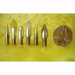 Enkaustikos Brass Hot Tip Set of all Six