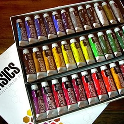 Liquitex Basics Acrylic Paint Set - 36