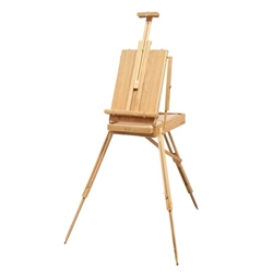 Full French Easel with Shelf Help
