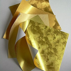 Origami Paper- Gold Metallic Assortment