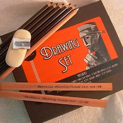 General Pencil Co. Art Deco Series Pencil Drawing Set