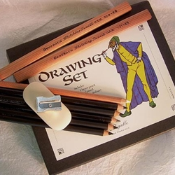 General Pencil Co. Art Theater Pencil Drawing Set