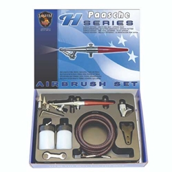 Paasche Model H Complete Airbrush Set