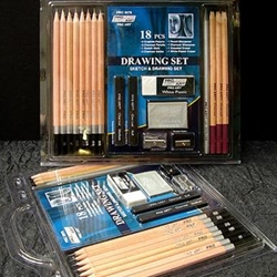 ProArt 18 Piece Drawing & Sketch Sets