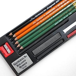 General Pencil Co. Drawing Class Essentials Tools Kit