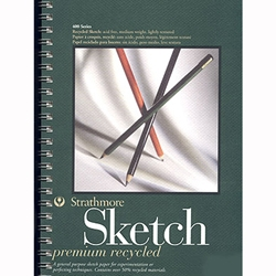 Strathmore Premium Recycled Sketch Pad Series 400
