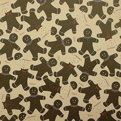 Holiday Paper & Wrap - Naughty & Nice Gingerbread Men