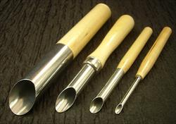 Clay Hole Cutters - Set of Four