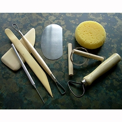 Pottery Tool Value Pack with Apron