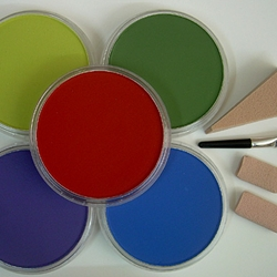 Pan Pastel Set of Five Shades (Dark Colors)