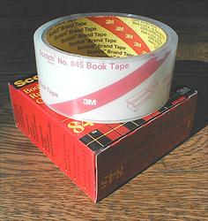 3M 845 Book Tape 1-1/2 inch x 15 yards