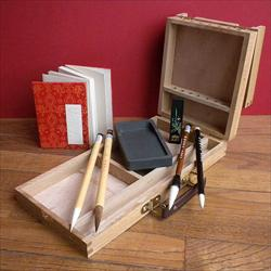 Sumi Wood Box Travel Kit
