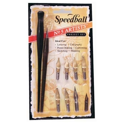 Speedball No. 5 Artists' Pen Set