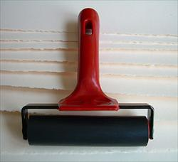 Four Inch Hard Rubber Printmaking Brayer