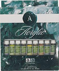 Art Advantage 12 Color 12ml Acrylic Set